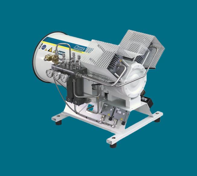 کمپرسور بدون روغن سری Neptune کمپرسور ساور