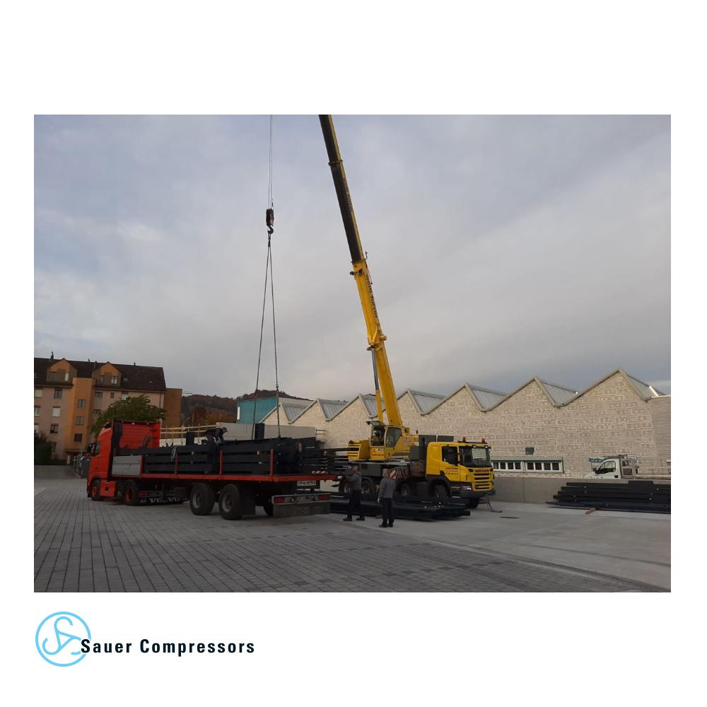 کارخانه هاگ-ساور در مسیر گسترش کمپرسور ساور تهران
