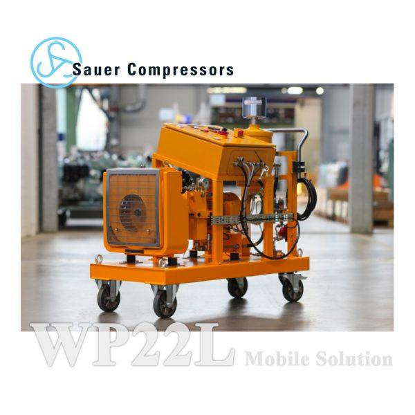 راهکار کمپرسور متحرک MISTRAL – مدل WP22L